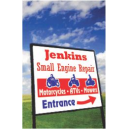 Aluminum Yard Signs - 2 colors
